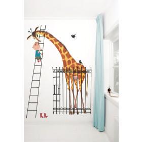 KEK Amsterdam fotobehang Reuze Giraf