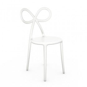 Qeeboo Ribbon Chair White - single pack- informeer naar de afhaalprijs