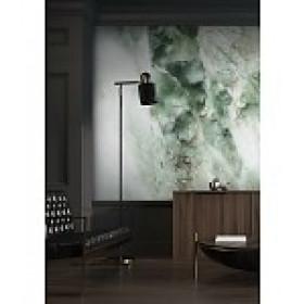 Kek Amsterdam Behang Marble groen 6 banen 292,2x280
