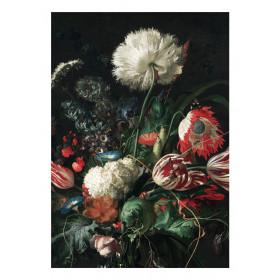 KEK Amsterdam Fotobehang Golden Age Flowers I, 8 vellen