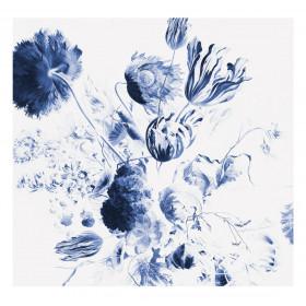 KEK Amsterdam Fotobehang Royal Blue Flowers II, 6 vellen