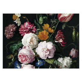 KEK Amsterdam Fotobehang Golden Age Flowers III, 8 vellen