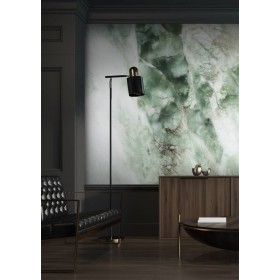 Kek Amsterdam Behang Marble groen 4 banen 194,8x280