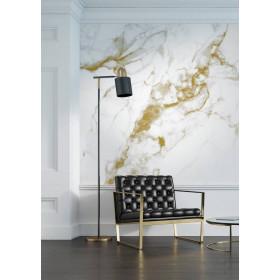Kek Amsterdam Behang Marble wit-goud 6 banen 292,2x280