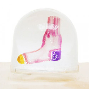 Shake it Baby Snowglobe/ Sneeuwbol Sock-654-20
