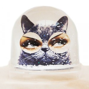 Shake it Baby Snowglobe/ Sneeuwbol Zen Cat-987-20