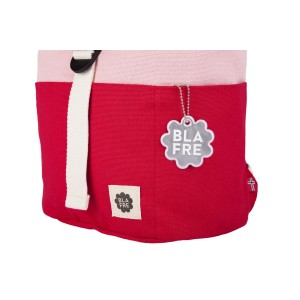 Blafre roll top rugzak 3-7j red+pink
