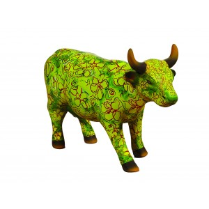 Cow parade Flora (Medium Cerami)