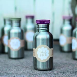 Blafre drinkfles RVS 500ml fuchsia