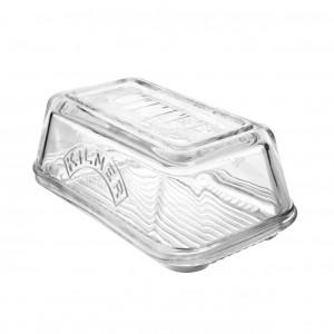 Kilner glazen boterschaal met deksel