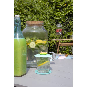 Point Virgule drankendispenser/ limonadetap met kurkdop