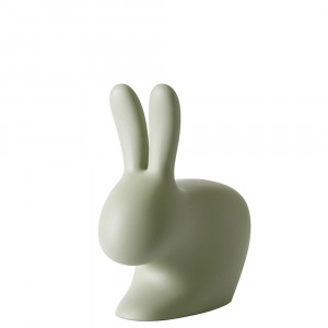 Qeeboo Rabbit Chair Green