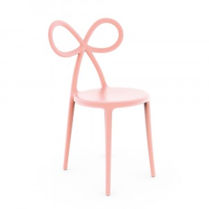 Qeeboo Ribbon Chair Pink - single pack - informeer naar de afhaalprijs
