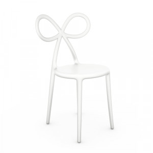 Qeeboo Ribbon Chair White - single pack